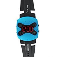 Buy SHVAS Drone Shape LED Military watch [DRONETURQ] from Amazon