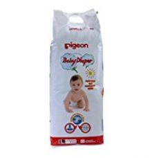 BABY DIAPER L SIZE 34PCS PIN for Rs. 590