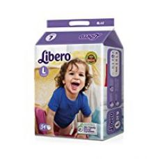 Buy Libero Open Large Size Diaper (54 Count) from Amazon