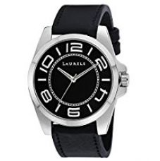 Buy Laurels Gatsby Analog Black Dial Men's Watch - Lo-Gt-402 from Amazon