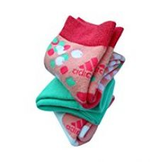 Buy adidas Full Cushion Cotton High Ankle Socks, Girl's Pack of 3 from Amazon