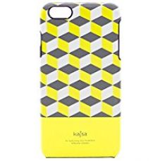 Buy Kajsa Reflective Twi-Light Back Case for iPhone 6 /6s  (Neon Yellow) from Amazon
