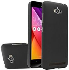 Buy Nillkin Frosted Shield Hard Back Cover Case for Asus Zenfone Max ZC550KL with Screen Protector (Black) from Amazon