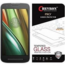 Buy Chevron Premium Tempered Glass Screen Protector Skin Cover for Motorola Moto E3 Power, Motorola Moto E (3rd Generation) from Amazon