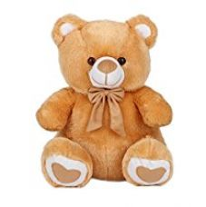 Buy Ultra Spongy Teddy Bear Soft Toy Gifts, Brown (15-inch) from Amazon