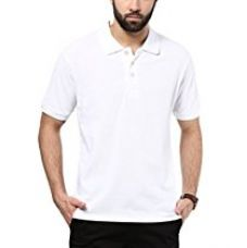 Buy American Crew Polo Collar Solid T-Shirt from Amazon