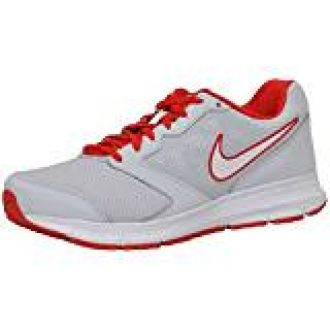 differently cbeea 6c1a3 Buy NIKE Men s Downshifter 6 MSL Pure Platinum, White, University Red and  University Red