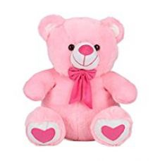 Ultra Spongy Teddy Bear Soft Toy Gifts, Pink (15-inch) for Rs. 499