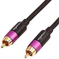 AmazonBasics Subwoofer cable - 25 feet for Rs. 529