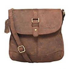 Leaderachi-100% Genuine Hunter Leather Crossbody Sling Bag [Turin] for Rs. 1,999