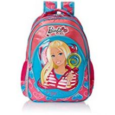 Barbie Pink and Blue Children's Backpack (Age group :8-12 yrs) for Rs. 951