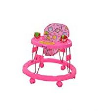 Buy Mothertouch Chikoo Round Walker Dx (Pink) from Amazon