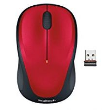Logitech M235 Wireless Mouse (Red) for Rs. 679