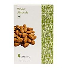 Amazon Brand - Solimo Premium Almonds, 500g for Rs. 469