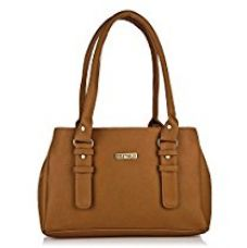 Fostelo Women's Handbag (Tan,Fsb-551) for Rs. 612