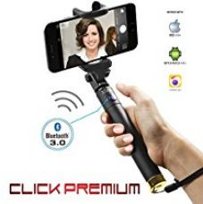 Buy Xtra Extendable Selfie Stick Bluetooth Monopod with Built-in Shutter Button Wireless Telescoping Stick with 270° Adjustable Holder for iPhone & Android Devices Handheld & Portable for Perfect Shots from Amazon