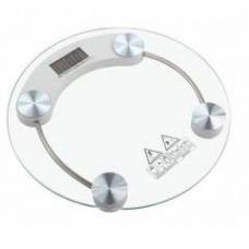 Buy Stealodeal 150 Kg Clear Digital Personal/Bathroom Round Weighing Scale, RW_150 from Moglix