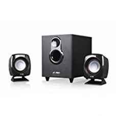 Buy F&D F-203G 2.1 Channel Multimedia Speakers System (Black) from Amazon