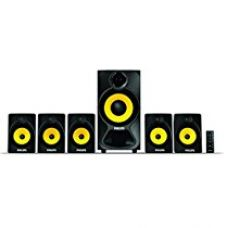 Philips Heart Beat SPA-3800B 5.1 Channel Home Theater System (Black/Yellow) for Rs. 4,200