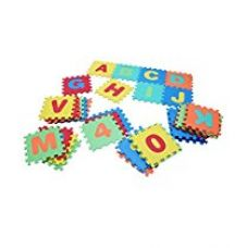 Buy Kids Mandi Kids Inter-lockable Puzzle Foam Floor Mats with Carry Bag from Amazon