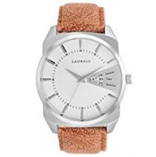 Buy Laurels Invictus 2 Day & Date Analog White Dial Men's Watch (Lo-Inc-201) from Amazon