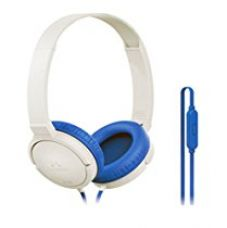 Buy SoundMagic P10S White Blue Headphone with Mic from Amazon