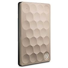 Seagate Backup Plus Ultra Slim 2TB USB 3.0 External Hard Drive with Mobile Device Backup (Gold) for Rs. 7,593