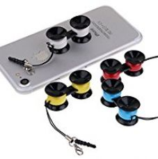 DMG Mobile Phone Mount Holder Sticko Stickee Sucker Suction Cups Universal Holder Smart Mobile Phone (Multicolour) for Rs. 199