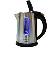 Buy Singer Cutie 1-Litre Kettle (Steel) from Amazon