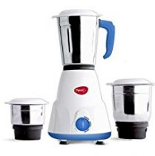 Pigeon Gusto 550-Watt Mixer Grinder with 3 Jars (White) for Rs. 1,999