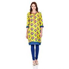 Buy Biba Women's Anarkali Kurta from Amazon