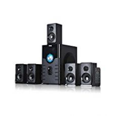 Buy Truvison SE-6666 5.1 Multimedia Speaker System with USB FM AUX MMC Superior Sound Clarity from Amazon