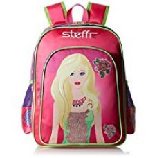 Simba 16 inches Pink Children's Backpack (BTS-2089) for Rs. 1,154