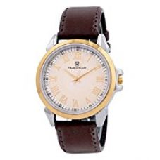 Buy H Timewear Analog White Dial Men's Watch - 107WDTG from Amazon