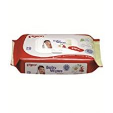 Pigeon Baby Wipes (70 sheets) for Rs. 210