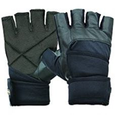 Buy Nivia Pro Wrap Gym Gloves, Large from Amazon