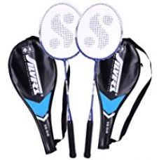 Silver's Sb-818 Badminton Racquet, 2 pieces with cover for Rs. 444
