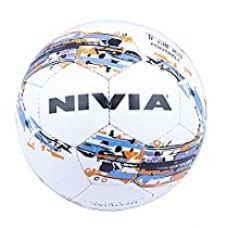 Buy Nivia Trainer Football, Size 5 (White) from Amazon