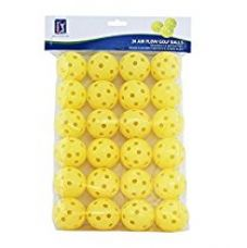 Buy PGA Tour (T137) Air Flow Practice Golf Balls, Pack of 24 (Yellow) from Amazon