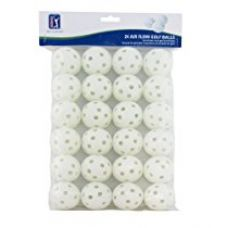 Buy PGA Tour (T136) Air Flow Practice Golf Balls, Pack of 24 (White) from Amazon