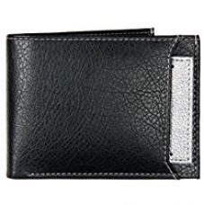 K London Black And Silver Men's Wallet(1420_silver) for Rs. 329
