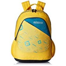 Buy American Tourister 26 Lts Yellow Casual Backpack (66W (0) 92 002) from Amazon