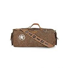Buy The House Of Tara Distress Finish Canvas Duffle, Gym Bag (Acorn Brown) from Amazon