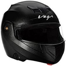 Vega Crux CRX-B-L Flip-up Helmet (Black, L) for Rs. 1,040