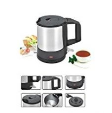 Buy Nova KT 723 1-Litre Cordless Kettle (Black/Grey) from Amazon