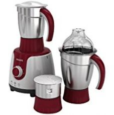 Philips HL 7720 750-Watt Mixer Grinder with 3 Jars (Multicolour) for Rs. 3,199