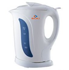 Buy Bajaj 1-Litre 1200-Watt cordless Kettle for Rs. 1,159