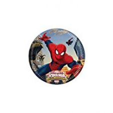 Buy Marvel Ultimate Spiderman Paper Plates Medium, Multi Color (20cm) from Amazon