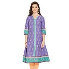 Buy Aurelia Women's Cotton Straight Kurta from Amazon