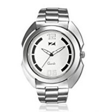 Zeus White Dial Analogue Men's Watch for Rs. 900